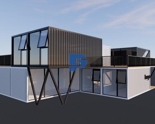 龙泉某公司集装箱办公室项目